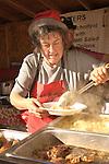 Christkindl Market- German Festival.Market Street- 12/09/06.patatoe dish