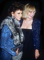 Raquel Welch Sally Kellerman 1980s, Photo By John Barrett/PHOTOlink