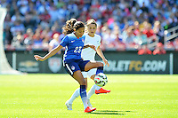 St. Louis, MO - Saturday, April 4, 2015: The USWNT defeated New Zealand 4-0 during an international friendly at Busch Stadium.