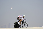 Tony Gallopin (FRA) AG2R Citroen Team during Stage 2 of the 2021 UAE Tour an individual time trial running 13km around  Al Hudayriyat Island, Abu Dhabi, UAE. 22nd February 2021.  <br /> Picture: Eoin Clarke | Cyclefile<br /> <br /> All photos usage must carry mandatory copyright credit (© Cyclefile | Eoin Clarke)