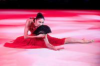 "February 14, 2016 - Tartu, Estonia - ALIYA PROTTO of USA performs in gala exhibition at ""Miss Valentine"" 2016 international tournament."