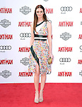 """Lydia Hearst attends The Premiere Of Marvel's """"Ant-Man"""" held at The Dolby Theatre  in Hollywood, California on June 29,2015                                                                               © 2015 Hollywood Press Agency"""