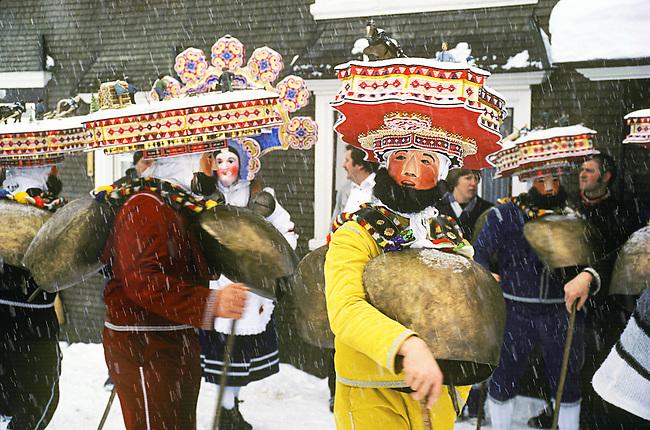 Julian New Year, Appenzell, Switzerland