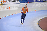 SPEEDSKATING: SALT LAKE CITY: Utah Olympic Oval, 09-03-2019, ISU World Cup Finals, 1000m Men, Kjeld Nuis (NED), world record: 1:06.183, ©Martin de Jong