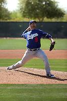 Jacob Rhame - Los Angeles Dodgers 2016 spring training (Bill Mitchell)