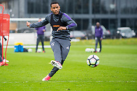Thursday  20 April 2017<br /> Pictured: Luciano Narsingh in action <br /> Re: Swansea City FC training session at the Fairwood training ground, Swansea, Wales, UK