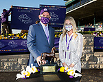 November 6, 2020: Breeders Awards, Juvenile Fillies on Breeders' Cup Championship Friday at Keeneland on November 6, 2020: in Lexington, Kentucky. Bill Denver/Breeders' Cup/Eclipse Sportswire/CSM