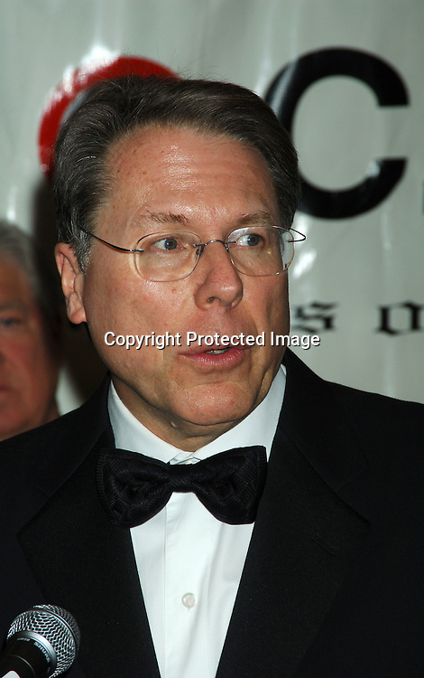Wayne LaPierre of the NRA ..at The 22nd Annual Congress of Racial Equality Martin Luther King Awards Dinner  on January 16, 2006 at The New York Sheraton Hotel and Towers. Usher was honored and the People of Mississippi were honored for the strides they have made in race relations, which was accepted by Governor Haley Barbour. ..Photo by Robin Platzer, Twin Images