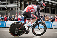 Harm Vanhoucke (BEL/Lotto Soudal)<br /> <br /> 104th Giro d'Italia 2021 (2.UWT)<br /> Stage 1 (ITT) from Turin to Turin (8.6 km)<br /> <br /> ©kramon