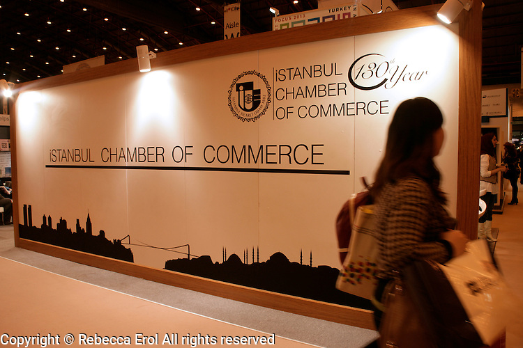Istanbul Chamber of Commerce at the London Book Fair 2012