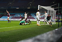 9th January 2021; Turf Moor, Burnley, Lanchashire, England; English FA Cup Football, Burnley versus Milton Keynes Dons; Matěj Vydra of Burnley equalises in the final minute to take the match to extra time