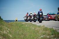 in-race moto's<br /> <br /> st16: Morain-en-Montagne to Bern (SUI) / 209km<br /> 103rd Tour de France 2016