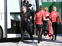 20200310  Lagos , Portugal : Belgian head coach Ives Serneels pictured prior to the female football game between the national teams of Belgium called the Red Flames and Denmarkl on the third and last matchday for the 5th or 6th place of the Algarve Cup 2020 , a prestigious friendly womensoccer tournament in Portugal , on tuesday 10 th March 2020 in Lagos , Portugal . PHOTO SPORTPIX.BE | DAVID CATRY