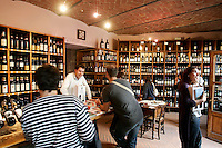 Degustazione di vini nella Cantina Comunale di La Morra.<br /> Wine tasting in the Cantina Comunale of La Morra.<br /> UPDATE IMAGES PRESS/Riccardo De Luca