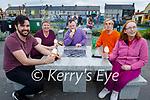 Enjoying their ice cream in Ballybunion on Sunday, l to r: Michael Fitzgerald, Susan Whelan, John McNamara, Mary Kirby and Imelda Chawke.