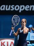 Dominika Cibulkova (SVK) defeats Maria Sharapova (RUS) 3-6, 6-4, 6-1