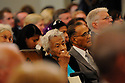 Leah and Dooky Chase were among family, friends and well-known politicians tosay goodbye to former US Rep. Lindy Boggs during her funeral at St. Louis Cathedral, New Orleans, Aug. 1, 2013.