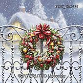 Marcello, CHRISTMAS SYMBOLS, WEIHNACHTEN SYMBOLE, NAVIDAD SÍMBOLOS, paintings+++++,ITMCXM1474,#XX# ,Christmas wreath
