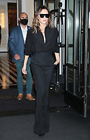 NEW YORK, NY - October 13: Victoria Beckham seen on her way to Late Night With Jimmy Fallon in New York City on October 13, 2021. Credit: RW/MediaPunch