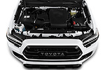 Car Stock 2020 Toyota Tacoma TRD-Pro 4 Door Pick-up Engine  high angle detail view