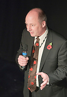 """Peter Mayhew-Smith, Principal of Kingston College, speaking about how the college integrates students with disabilities.  Special Olympics Surrey put on a show,   """"Beyond the Stars"""", at the Rose Theatre, Kingston upon Thames to raise money for the  SOGB team.  The Special Olympics are for athletes with learning disabilities."""