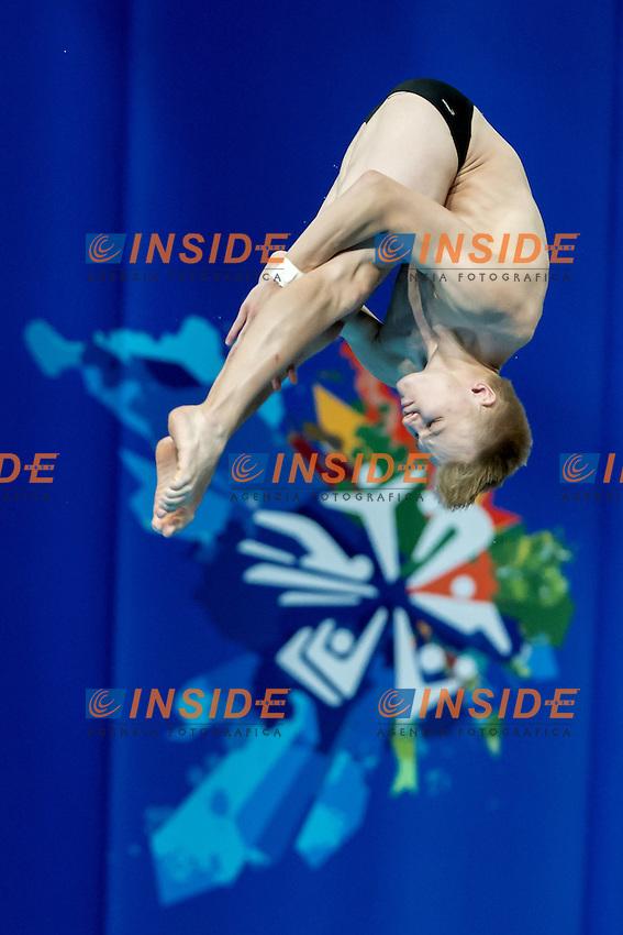 JENSEN Daniel NOR<br /> 10m. Platform Men preliminaries<br /> Day09 01/08/2015 Tuffi - Diving Aquatic Palace <br /> XVI FINA World Championships Aquatics Swimming<br /> Kazan Tatarstan RUS July 24 - Aug. 9 2015 <br /> Photo G.Scala/Deepbluemedia/Insidefoto
