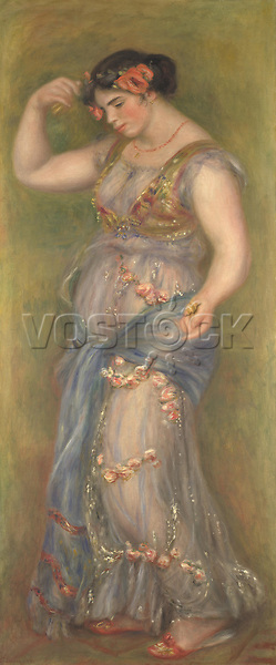 Full title: Dancing Girl with Castanets<br /> Artist: Pierre-Auguste Renoir<br /> Date made: 1909