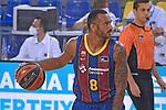 League ACB-ENDESA 2020/2021 - Game: 1.<br /> Barça vs Hereda San Pablo Burgos: 89-86.<br /> Adam Hanga.