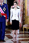 "Reception of their Majesties on the occasion of the "" Day of the Armed Forces 2016"" in Madrid. May 28, 2016. (ALTERPHOTOS/Borja B.Hojas)"