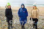 Angela Ryan, Rachel Fitzgerald and Mary Dowling from Ardfert after enjoying their Sunday morning swim in Banna.