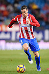 Fernando Torres of Atletico de Madrid in action during their La Liga match between Atletico de Madrid and RC Celta de Vigo at the Vicente Calderón Stadium on 12 February 2017 in Madrid, Spain. Photo by Diego Gonzalez Souto / Power Sport Images