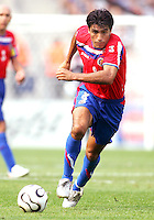Mauricio Solis (8) in action for Costa Rica. Poland defeated Costa Rica 2-1 in their FIFA World Cup Group A match at FIFA World Cup Stadium, Hanover, Germany, June 20, 2006.