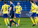 Ross County v St Johnstone…02.01.21   Global Energy Stadium     SPFL<br />Craig Conway celebrates his goal<br />Picture by Graeme Hart.<br />Copyright Perthshire Picture Agency<br />Tel: 01738 623350  Mobile: 07990 594431