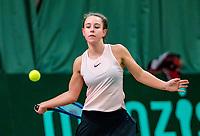 Wateringen, The Netherlands, March 16, 2018,  De Rhijenhof , NOJK 14/18 years, Nat. Junior Tennis Champ. Laurèl Polman (NED)<br /> Photo: www.tennisimages.com/Henk Koster