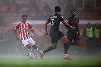 29th December 2020; Bet365 Stadium, Stoke, Staffordshire, England; English Football League Championship Football, Stoke City's Tom Ince comes forward in the fog late in the game