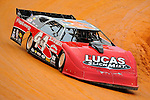 Jul 4, 2009; 8:15:52 PM; Bulls Gap, TN., USA; The Lucas Oil Late Model Dirt Series running a 10,000 to win race at Volunteer Speedway.  Mandatory Credit: (thesportswire.net)