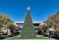 Christmas display at Atlantic Station, Atlanta, Georgia, USA