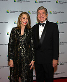 United States Senator Roy Blunt (Republican of Missouri) and his wife, Abigail, arrive for the formal Artist's Dinner honoring the recipients of the 41st Annual Kennedy Center Honors hosted by United States Deputy Secretary of State John J. Sullivan at the US Department of State in Washington, D.C. on Saturday, December 1, 2018. The 2018 honorees are: singer and actress Cher; composer and pianist Philip Glass; Country music entertainer Reba McEntire; and jazz saxophonist and composer Wayne Shorter. This year, the co-creators of Hamilton writer and actor Lin-Manuel Miranda, director Thomas Kail, choreographer Andy Blankenbuehler, and music director Alex Lacamoire will receive a unique Kennedy Center Honors as trailblazing creators of a transformative work that defies category.<br /> Credit: Ron Sachs / Pool via CNP