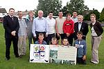 Dunleer Goalpost Unveiling