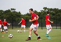 Lakewood Ranch, FL - Sunday July 23, 2017: Tyler Bennett during an international friendly match between the paralympic national teams of the United States (USA) and Canada (CAN) at Premier Sports Campus at Lakewood Ranch.