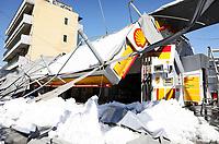 2021 02 17 Heavy snow has fallen in Athens, Greece.