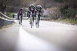 Team Giant-Alpecin training camp held around Cambrils, Spain. 26 Janiuary 2015<br /> Photo: Team Giant-Alpecin/www.newsfile.ie