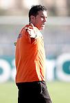 Getafe's coach Luis Garcia gestures during trainning. August 03, 2011. (ALTERPHOTOS/Alvaro Hernandez)