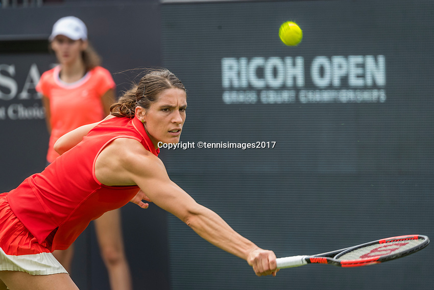 Den Bosch, Netherlands, 13 June, 2017, Tennis, Ricoh Open, Andrea Petkovic (GER)<br /> Photo: Henk Koster/tennisimages.com