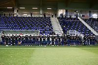 WIENER NEUSTADT, AUSTRIA - MARCH 25: USMNT before a game between Jamaica and USMNT at Stadion Wiener Neustadt on March 25, 2021 in Wiener Neustadt, Austria.