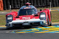 #709 Glickenhaus Racing Glickenhaus 007 LMH Hypercar, Ryan Briscoe, Richard Westbrook, Romain Dumas, 24 Hours of Le Mans , Test Day, Circuit des 24 Heures, Le Mans, Pays da Loire, France