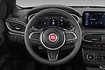 Car pictures of steering wheel view of a 2021 Fiat Tipo-Cross - 5 Door Hatchback Steering Wheel