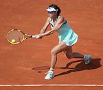 Shuai Peng loses  at Roland Garros in Paris, France on June 2, 2012