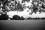 Pix: Shaun Flannery/shaunflanneryphotography.com...COPYRIGHT PICTURE>>SHAUN FLANNERY>01302-570814>>07778315553>>..19th June 2011...............Cricket, Sprotbrough Under 9's play under dull grey skies..