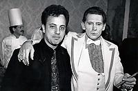 Jerry Lee Lewis, Billy Joel 1977<br /> Photo By John Barrett-PHOTOlink.net / MediaPunch